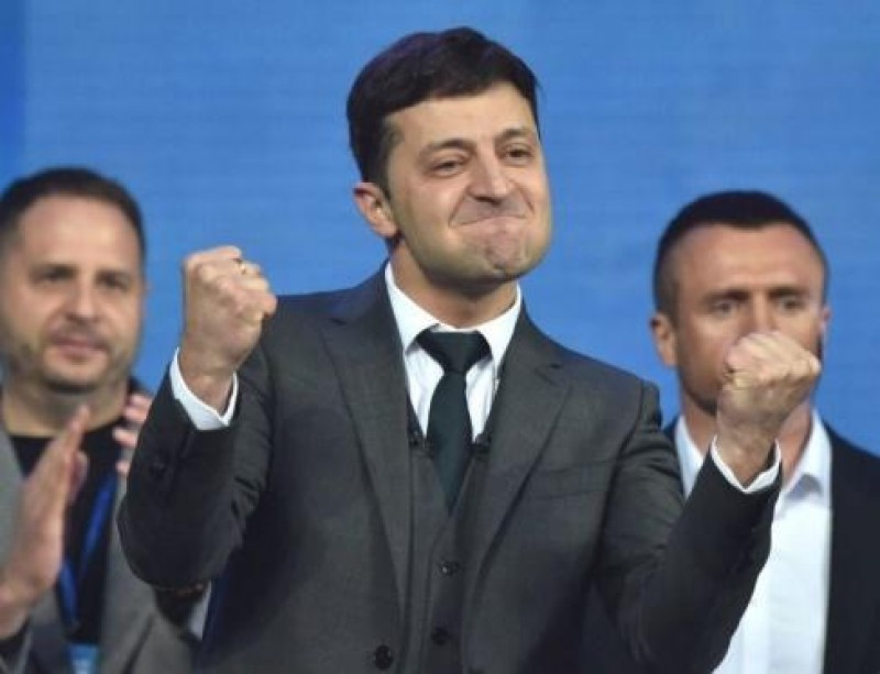 Alegeri prezidențiale în Ucraina: Actorul de comedie Zelenski a fost ales președinte cu 73 la sută din voturi