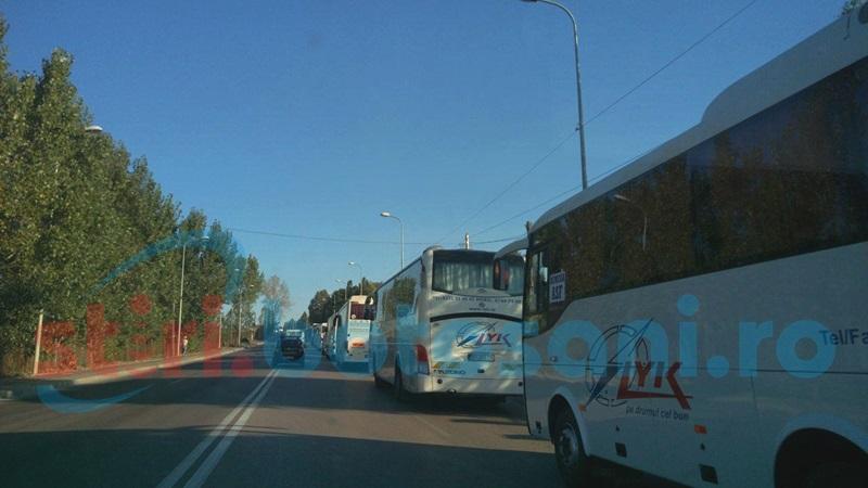 Atenţie, şoferi! Risc de blocaj al traficului, din cauza protestului transportatorilor! FOTO