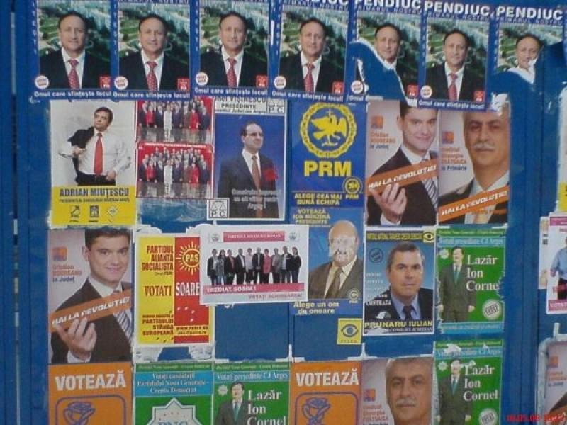 Cat au cheltuit partidele in campania electorala
