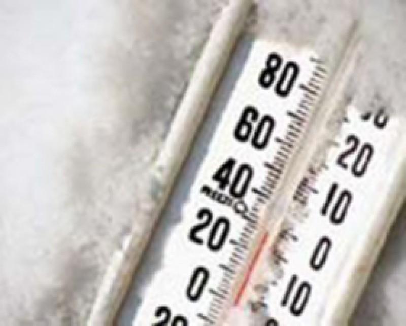Cea mai scăzută temperatură de iarna aceasta, la Botoşani!