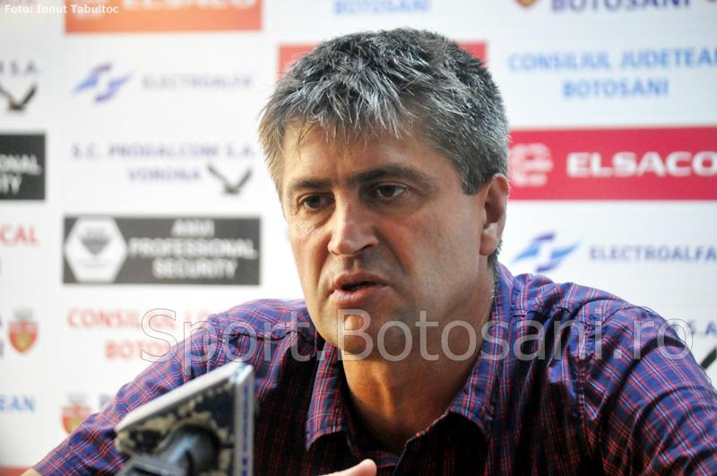 """Cristi Popovici: """"Voiam să fim lideri la meciul cu Steaua, dar suntem mulțumiți cu egalul"""""""