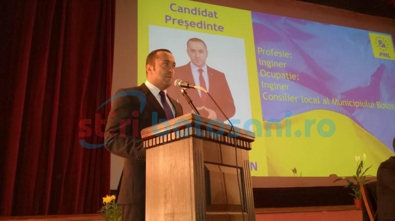 """Discurs dur la alegerile din cadrul Organizației Municipale a PNL Botoșani: """"Domnul Iliuță nu poate să ne conducă. Și-a băgat capul în nisip sperând că...."""""""