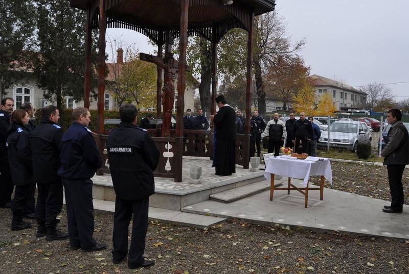 Jandarmii își sărbătoresc patronii spirituali, Sfinții Arhangheli Mihail si Gavriil