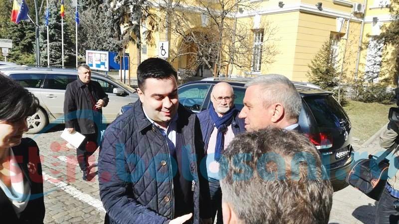 Ministrul Transporturilor a ajuns la Botoșani - FOTO