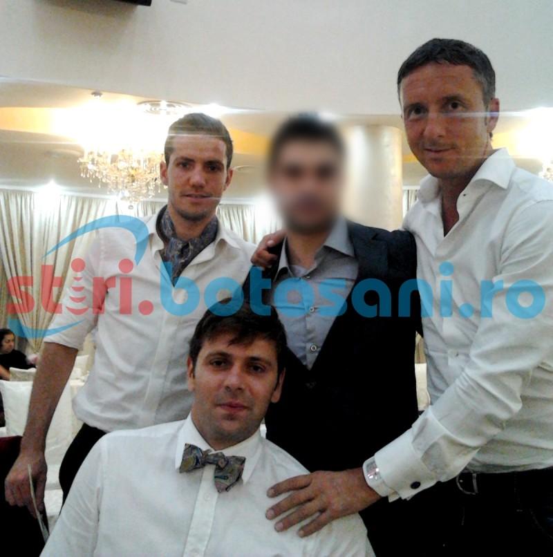 Monden! Botosanean prezent la botezul fiicei stelistului Alex Chipciu, alaturi de Rusescu si MM Stoica! FOTO