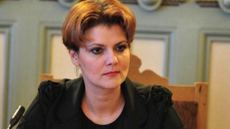Olguţa Vasilescu: Dacă salariile vor scădea, este doar vina angajatorului care doreşte să ia din banii angajatului!