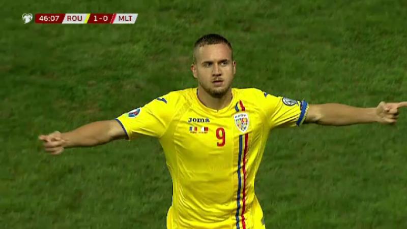 Rezultat slab al tricolorilor împotriva Maltei: România - Malta 1-0!