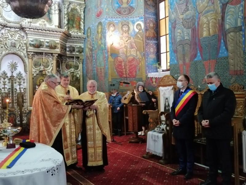 Te-Deum pentru marele poet național, la Biserica Uspenia (FOTO)