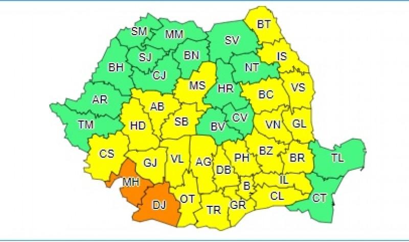 Un nou val de căldură: Cod Galben în județul Botoșani!