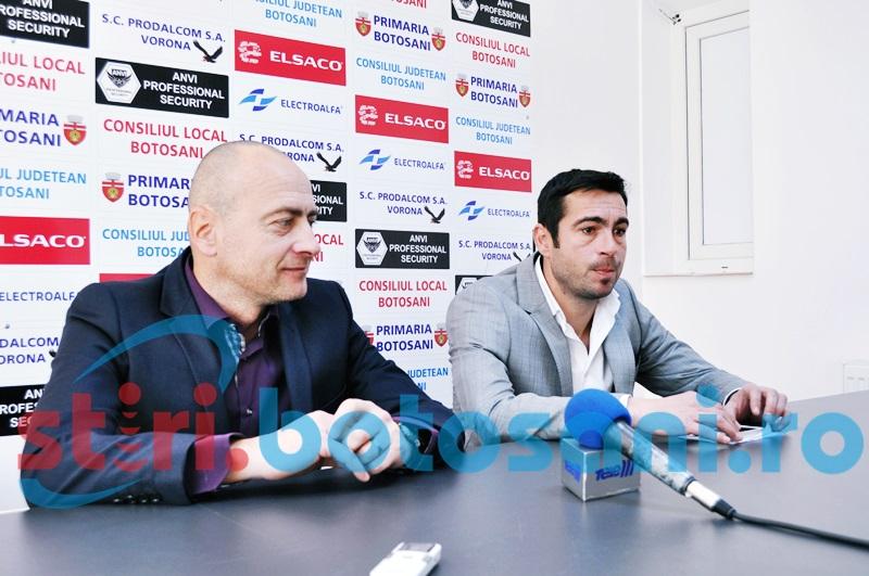 "Valeriu Bordeanu si Leo Grozavu au fost prezentati OFICIAL la FC Botosani: ""Nu trebuie sa ai experinta ca sa obtii rezultate"""
