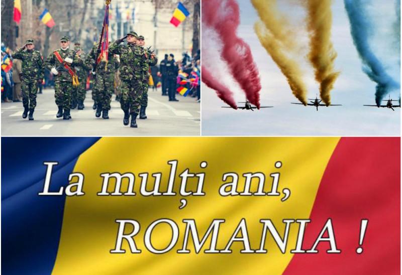 1 Decembrie – Ziua Națională a României. La mulți ani!
