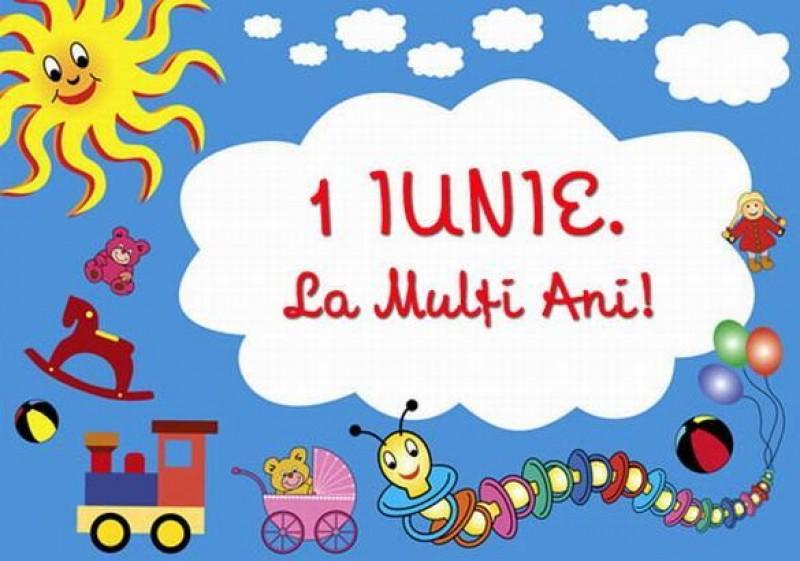 1 iunie: La mulţi ani, copii!