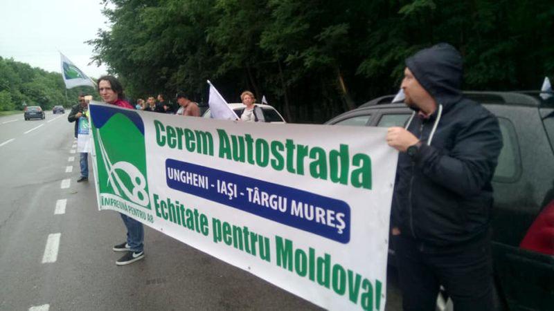 10 Aprilie, miting pentru susținerea autostrăzilor din Moldova. De la Botoşani se va pleca din Piaţa Centrală de la ora 10.00