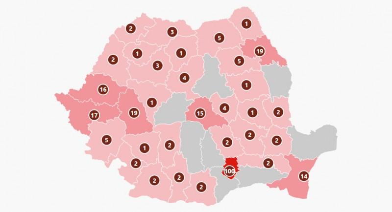 14 cazuri nou confirmate duce la 260 numărul de cazuri de persoane infectate cu virusul COVID – 19 în România. Pacienții nou confirmați au vârsta cuprinsă între 2 ani și 57 de ani