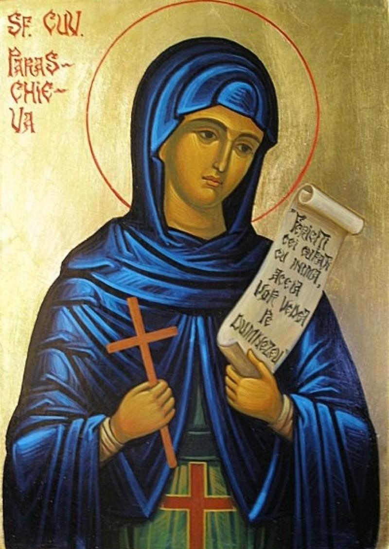 14 octombrie: Sfânta Cuvioasă Parascheva, ocrotitoarea Moldovei!