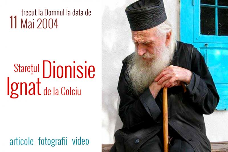 15 ani de la trecerea la Domnul a părintelui Dionisie Ignat, născut în Vorniceni