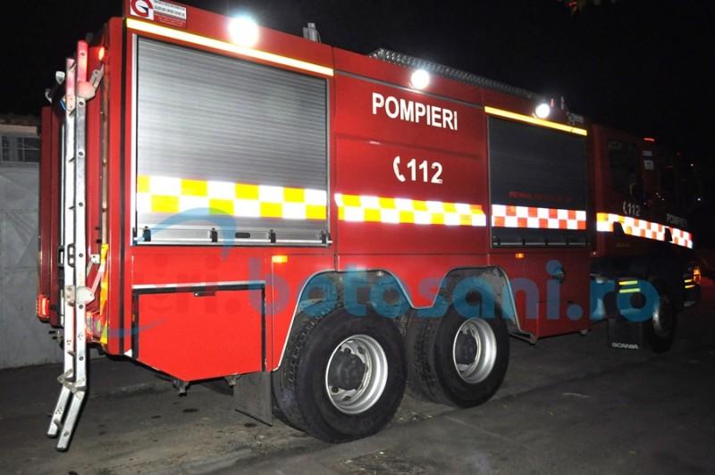15 incendii într-o săptămână, în județul Botoșani!