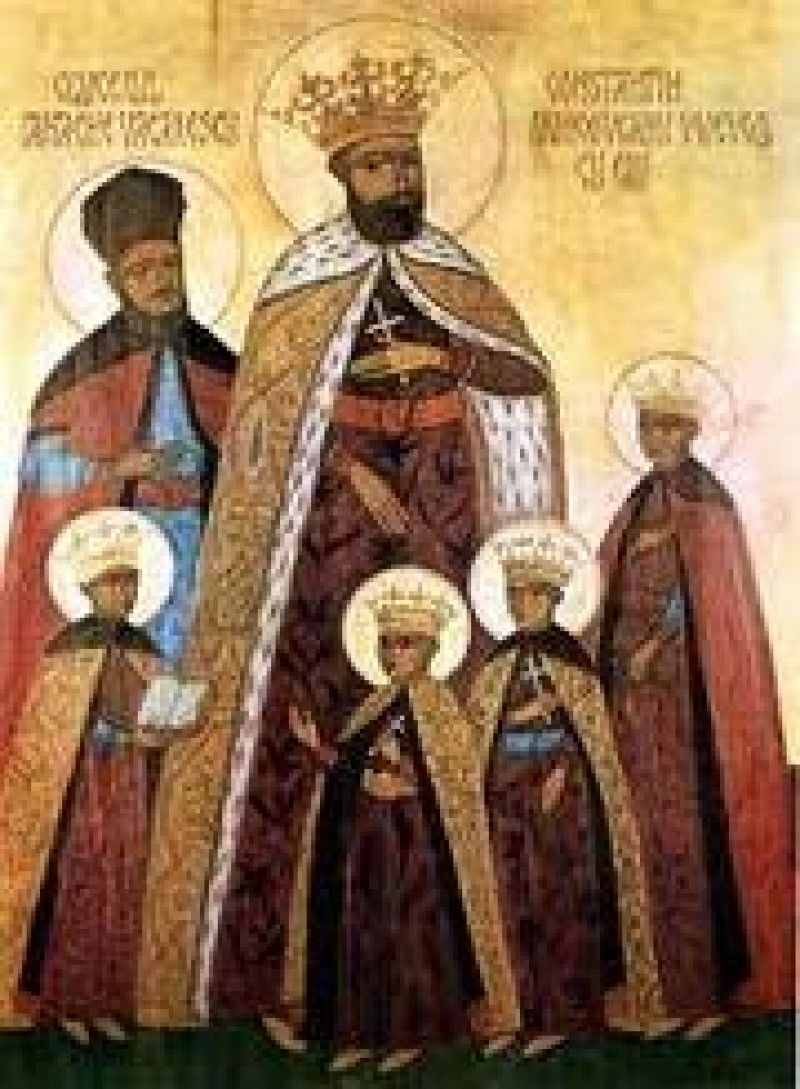 16 august: Sfintii Martiri Brancoveni