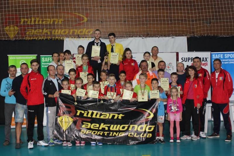17 medalii pentru sportivii de la Brilliant Taekwondo, la Cupa Eagles! FOTO