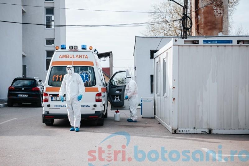 180 de cadre medicale din Botoșani infectate cu COVID și 40 de oameni vindecați