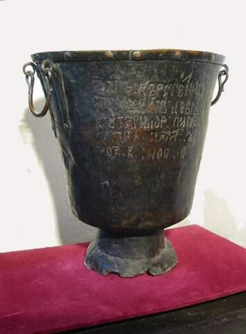 21 ianuarie, ziua în care a fost botezat Mihai Eminescu. Unde poate fi admirată cristelnița