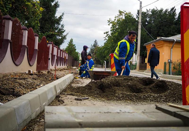 22 de străzi vor fi modernizate cu finanțare prin Programul Național de Dezvoltare Anghel Saligny