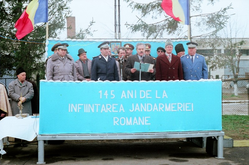 25 de ani de la înființarea Batalionului 69 Jandarmi Botoșani