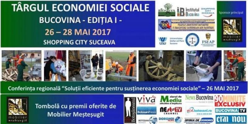 """26 – 28 mai 2017"""" - Conferința regională """"Soluții eficiente pentru susținerea economiei sociale"""""""