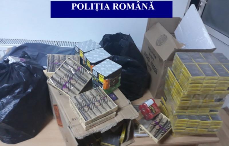 3 mandate de percheziţie domiciliară emise de Judecătoria Botoşani executate astăzi de poliţişti pentru articole pirotehnice