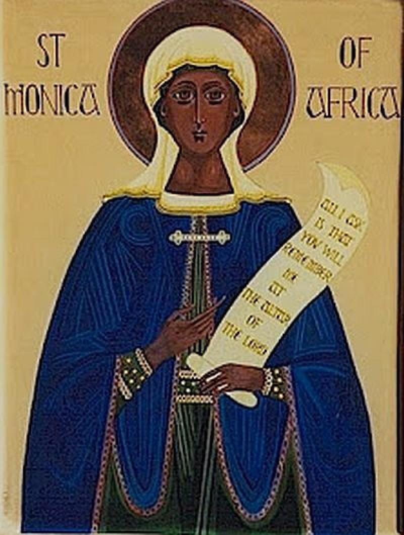 4 mai: Sfânta Monica, ocrotitoarea soțiilor și mamelor necăjite