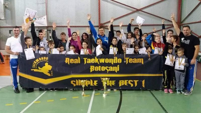 40 de medalii obtinute de clubul Real Taekwondo Team, la Cupa Armeniopolis! FOTO