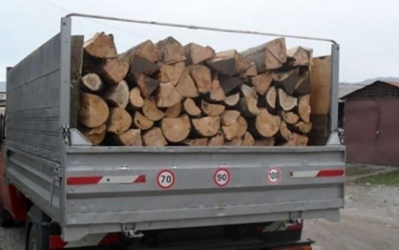 5000 de lei amendă pentru lemn fără documente!