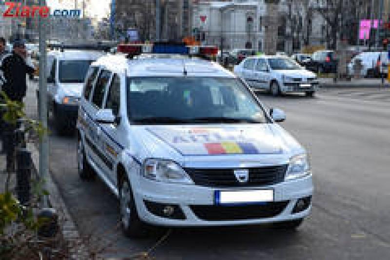 70 de poliţişti au ieşit în stradă: Amenzi de peste 40.000 lei, permise de conducere reţinute, 240 de sancţiuni!