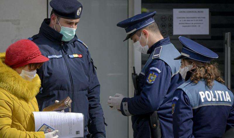 75 de locații de interes și 87 de mijloace se transport persoane verificate de polițiști pentru respectarea măsurilor prevenirea efectelor pandemiei