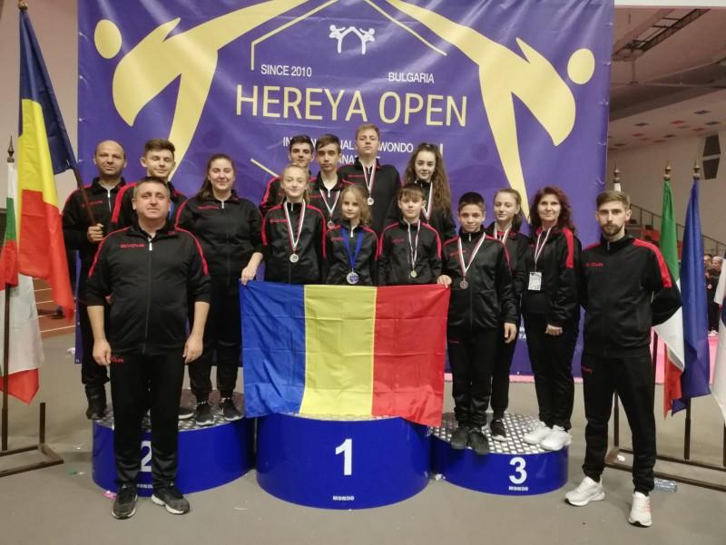 9 medalii obținute de Brilliant Taekwondo și Clubul Sportiv Botoșani în Bulgaria