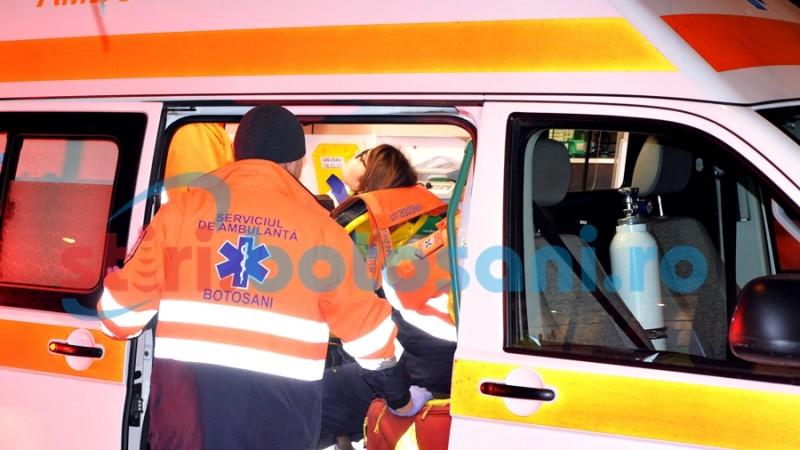 A ajuns la spital, dupa o traversare neregulamentara! FOTO