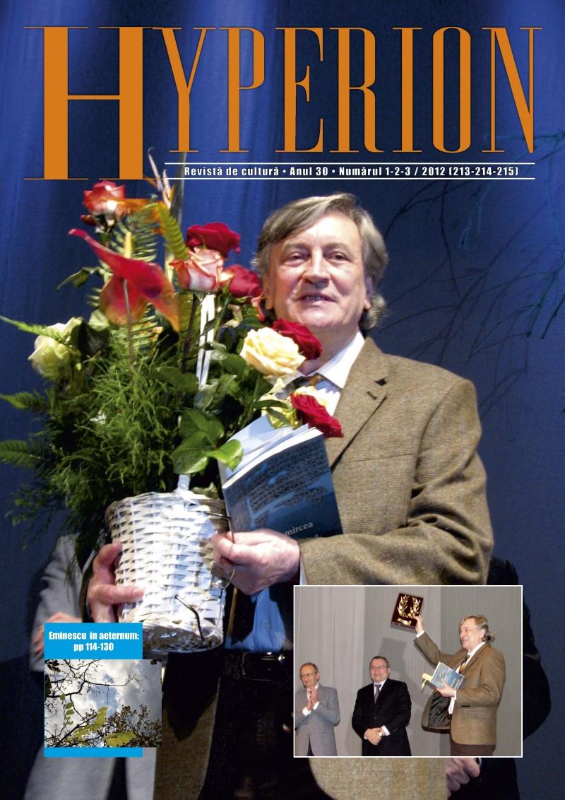 A apărut Hyperion, numerele 1-2-3 din 2012 - CITESTE INTEGRAL REVISTA