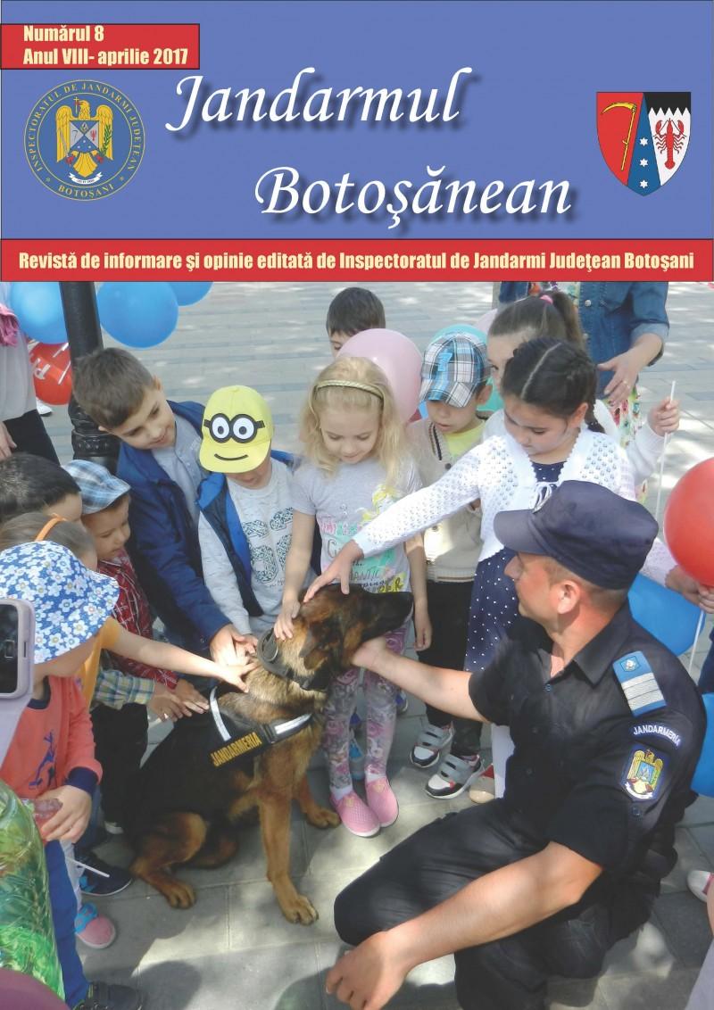 """A apărut un nou număr al revistei """"Jandarmul Botoșănean"""" - FOTO"""
