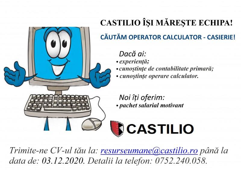 (A) Castilio face angajări!