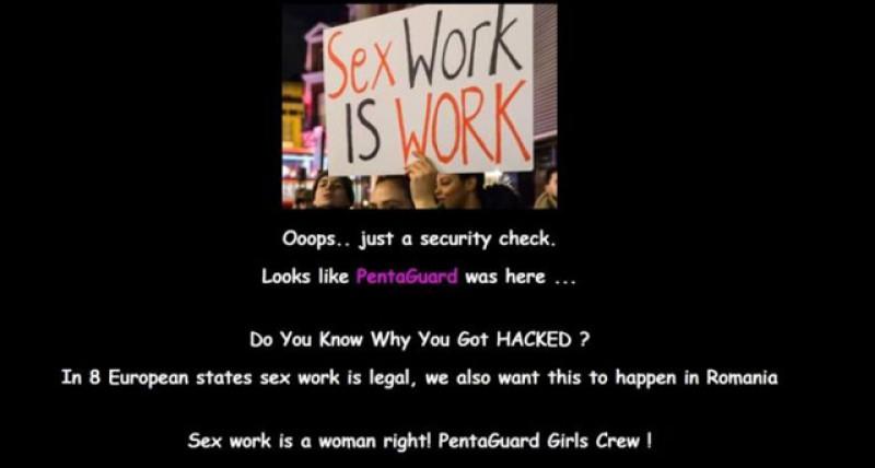 A fost atacat site-ul Curţii de Conturi iar hackerii au cerut legalizarea prostituţiei