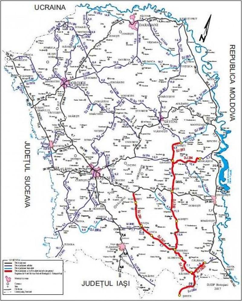 A fost lansată licitația pentru execuția lucrărilor Drumului Strategic