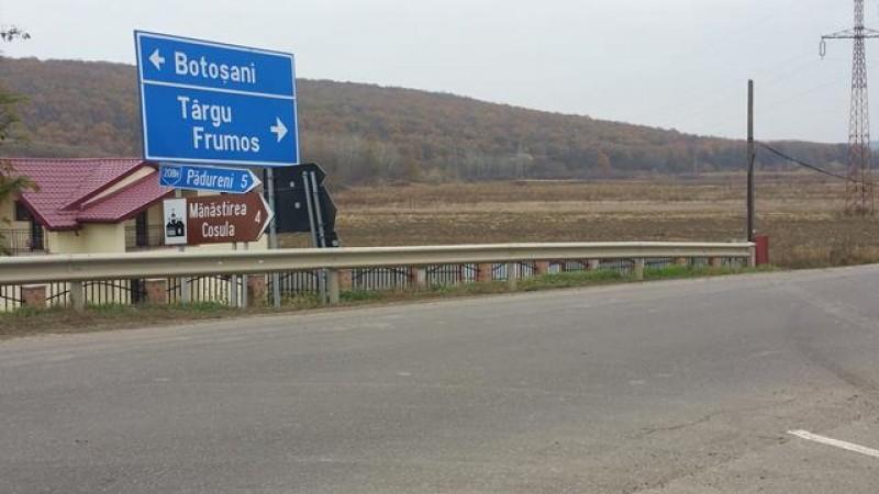 A fost predat amplasamentul pentru modernizarea tronsonului Botoșani-Târgu Frumos