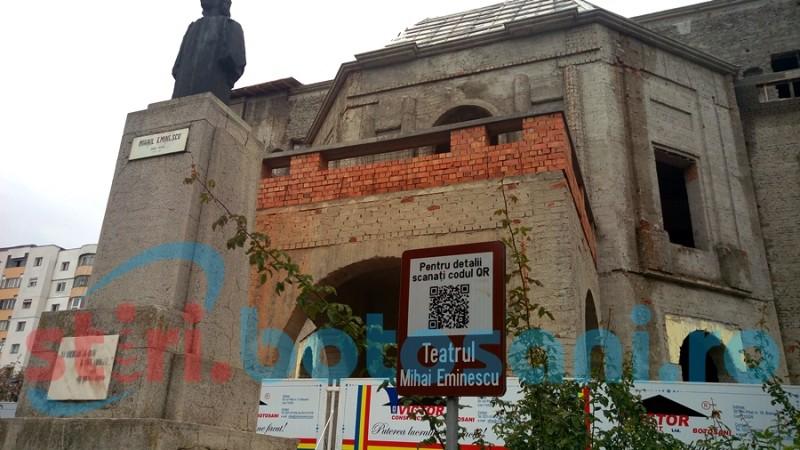 """A fost semnat noul contract de finanțare pentru consolidarea și reabilitatea Teatrului """"Mihai Eminescu"""" Botoșani!"""