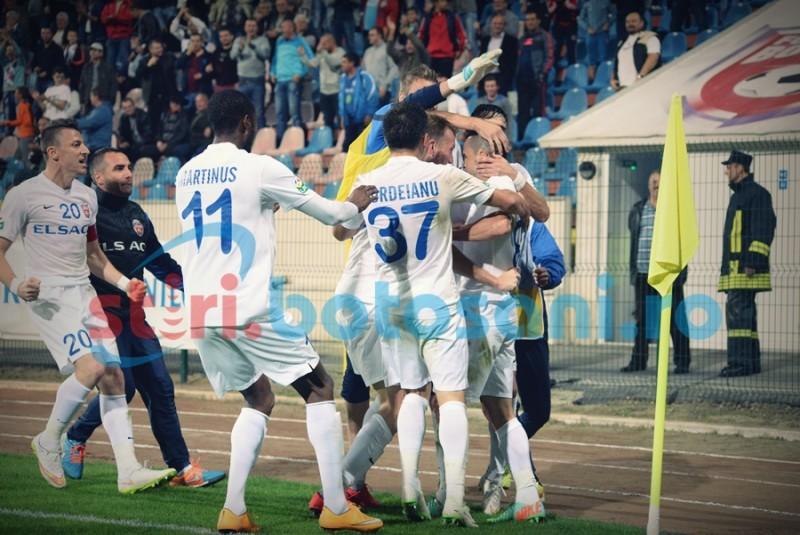 A plecat de la FC Botosani si a semnat cu Dinamo Bucuresti!