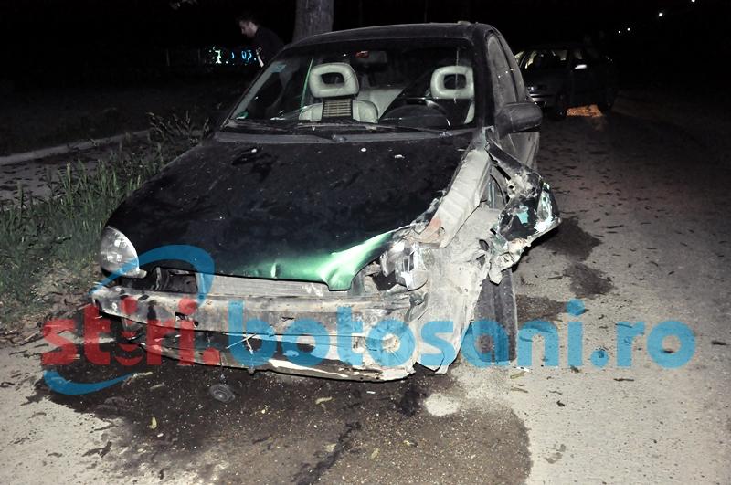 A provocat un accident la beție și și-a văzut de drum. Desfășurare de forțe pentru depistarea autorului