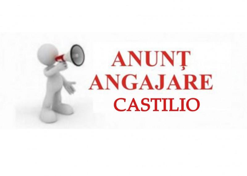 (A) S.C. CASTILIO S.R.L angajează Operator calculator - Caserie