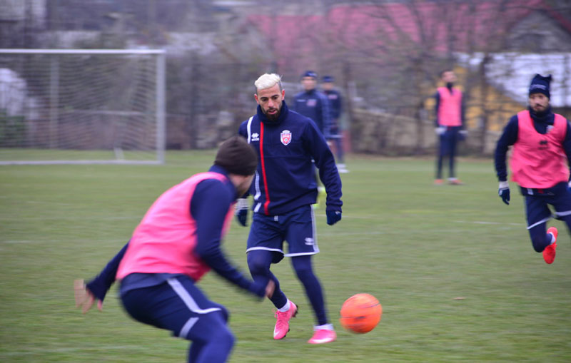 A venit perla! Al-Mawas a început antrenamentele cu FC Botoșani!