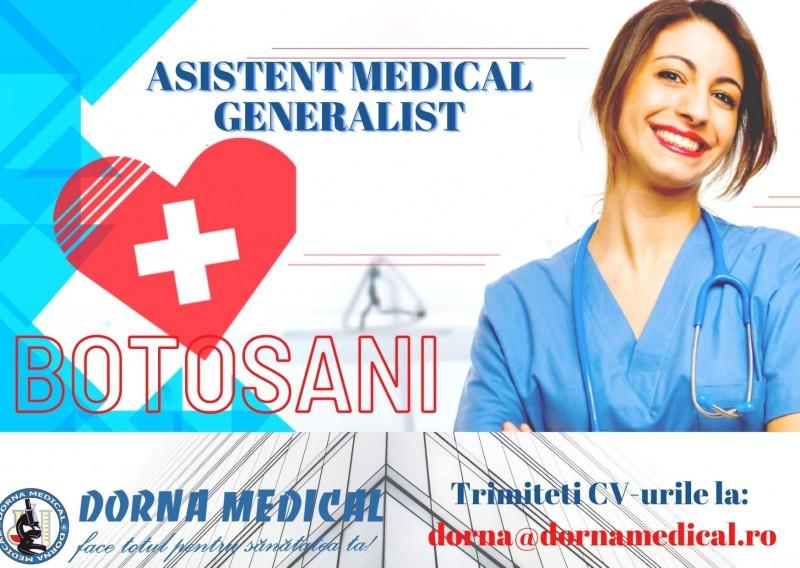 (A) Vino în echipa Dorna Medical Botoșani!
