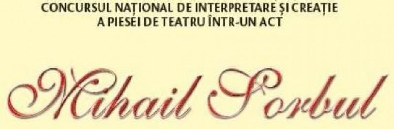 """A XXVI-a ediție a Festivalului-Concurs Naţional de Interpretare a Piesei de Teatru într-un act """"Mihail Sorbul"""", Botoșani 2018"""