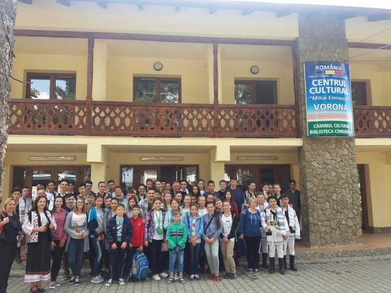 Copii din Republica Moldova, în vizită la Botoșani -FOTO